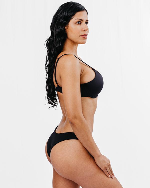 BAIA - Underwire Bikini Top Black