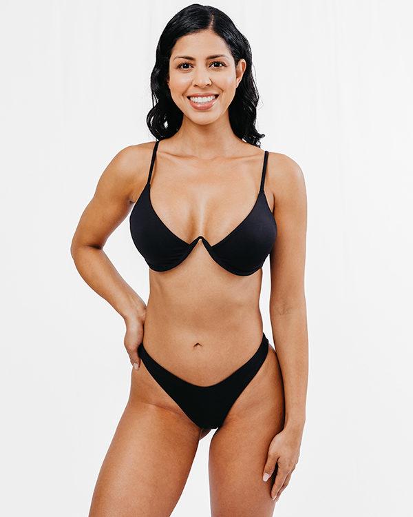 BAIA - Brazilian Cut Bikini Bottom Schwarz