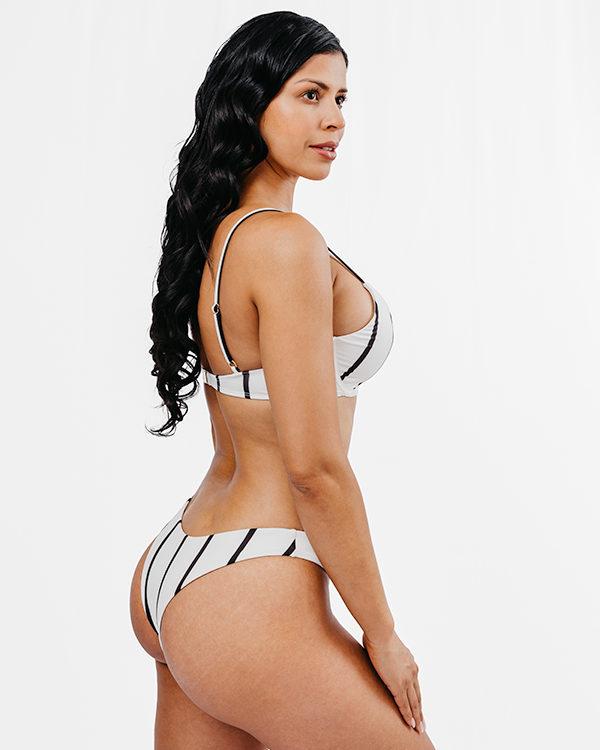 BAIA - Underwire Bikini Top Black&White