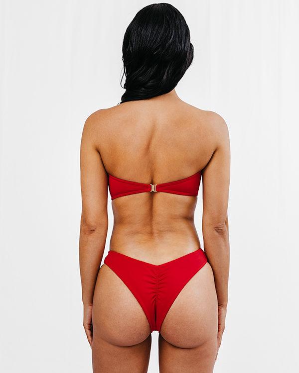 MORENA - Bandeau Bikini Top Rot