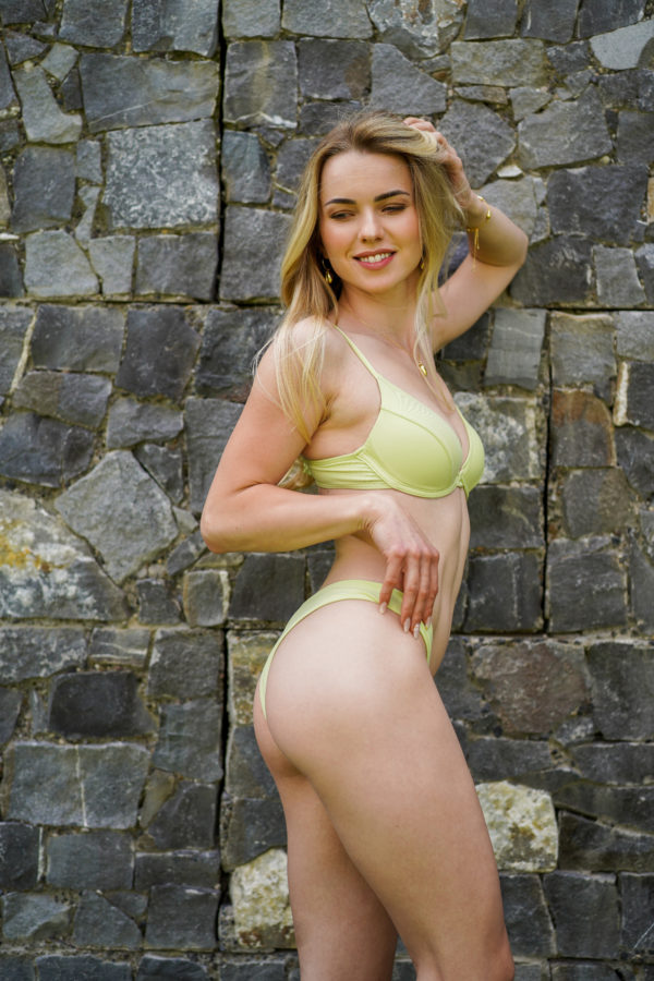 RIO – The Brazilian Cut Bikini Bottom Pastellgrün