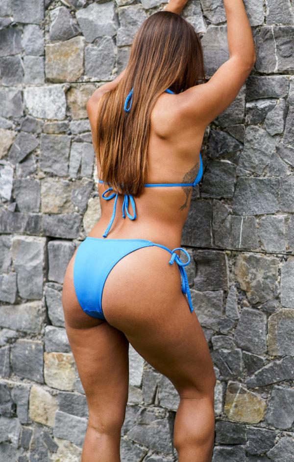 IPANEMA – Medium Cut Bikini Bottom Electric Blue
