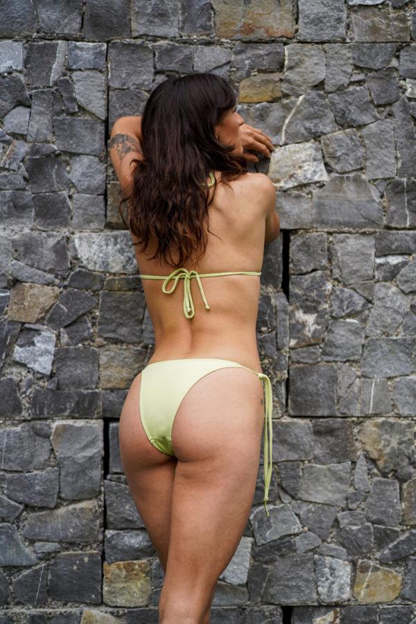 IPANEMA – Medium Cut Bikini Bottom Soft Green