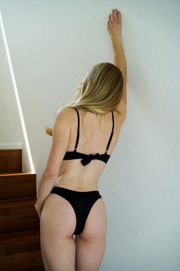 RIO – The Brazilian Cut Bikini Bottom Schwarz