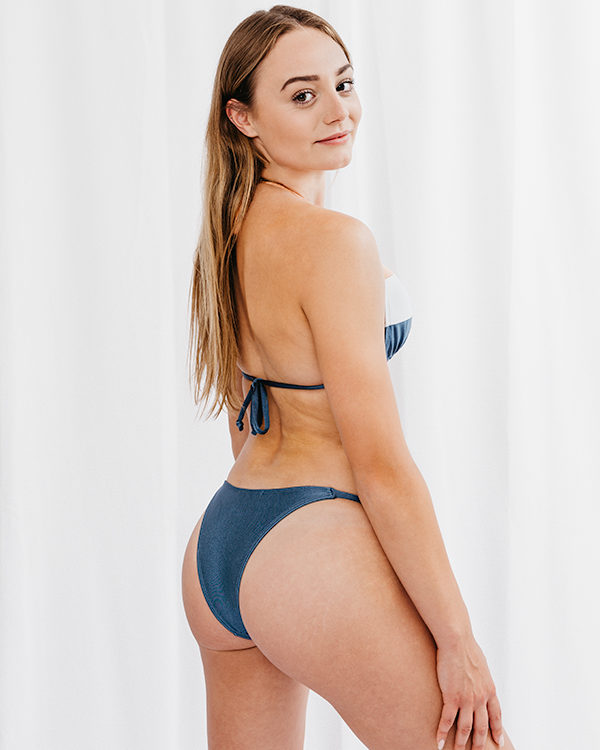 BELLA - Triangle Bikini Top Tricolor