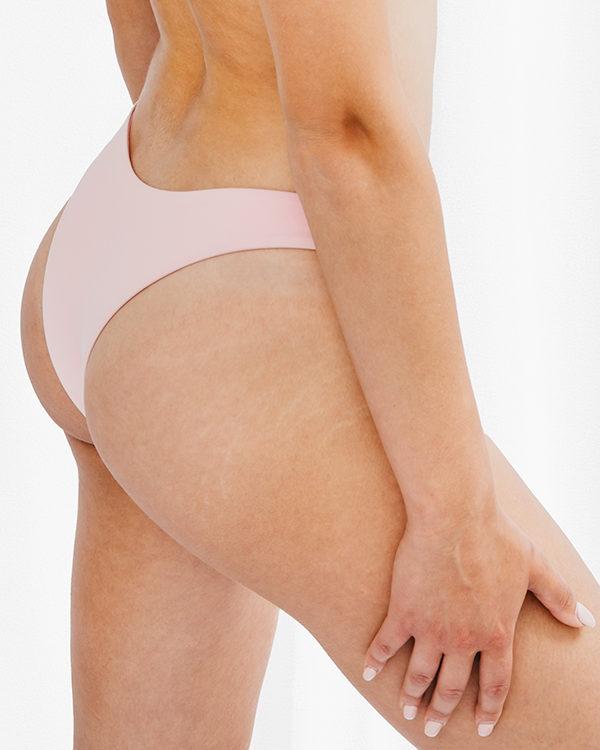 FLORA - Brazilian Cut Bikini Bottom Baby Rosa