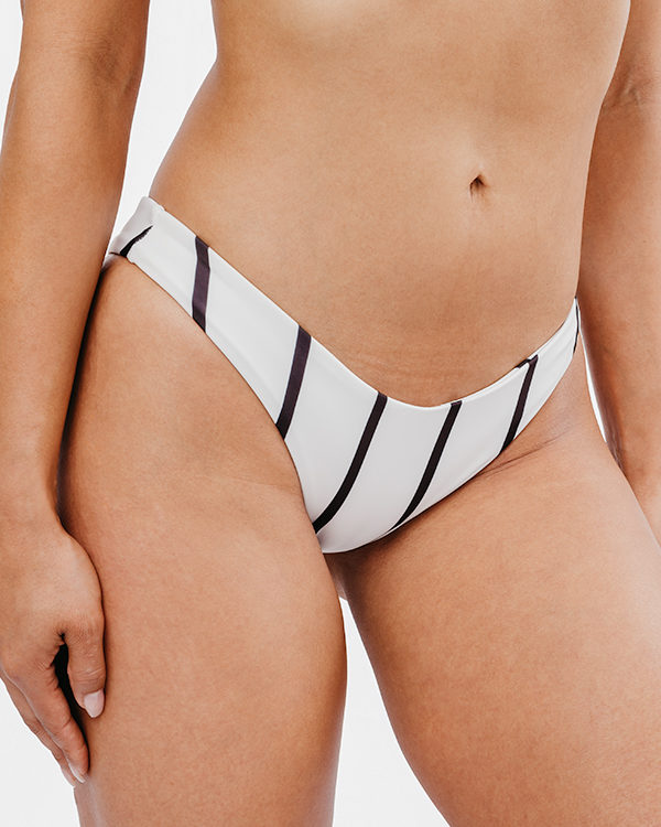 BAIA - Brazilian Cut Bikini Bottom Black&White