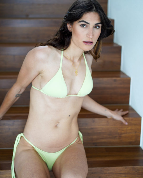 IPANEMA – Triangle Bikini Top Soft Green