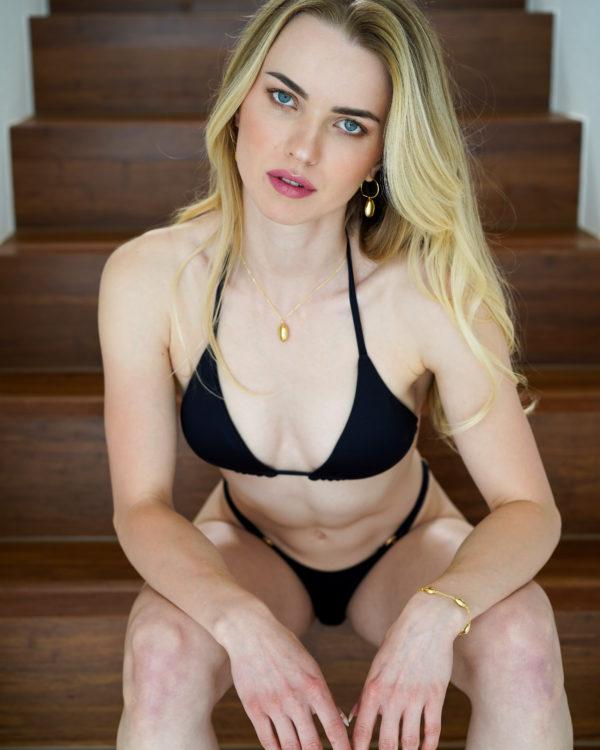 IPANEMA – Triangle Bikini Top Schwarz